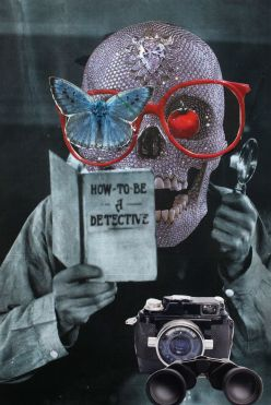 How To Be A Detective, Portraits For Our Time Collage Series